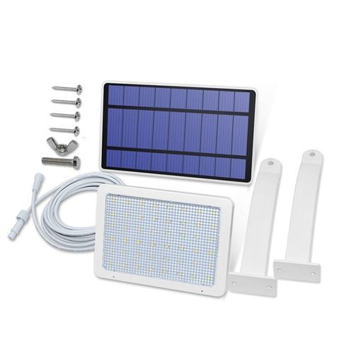 48led 18 w led painel solar alimentado