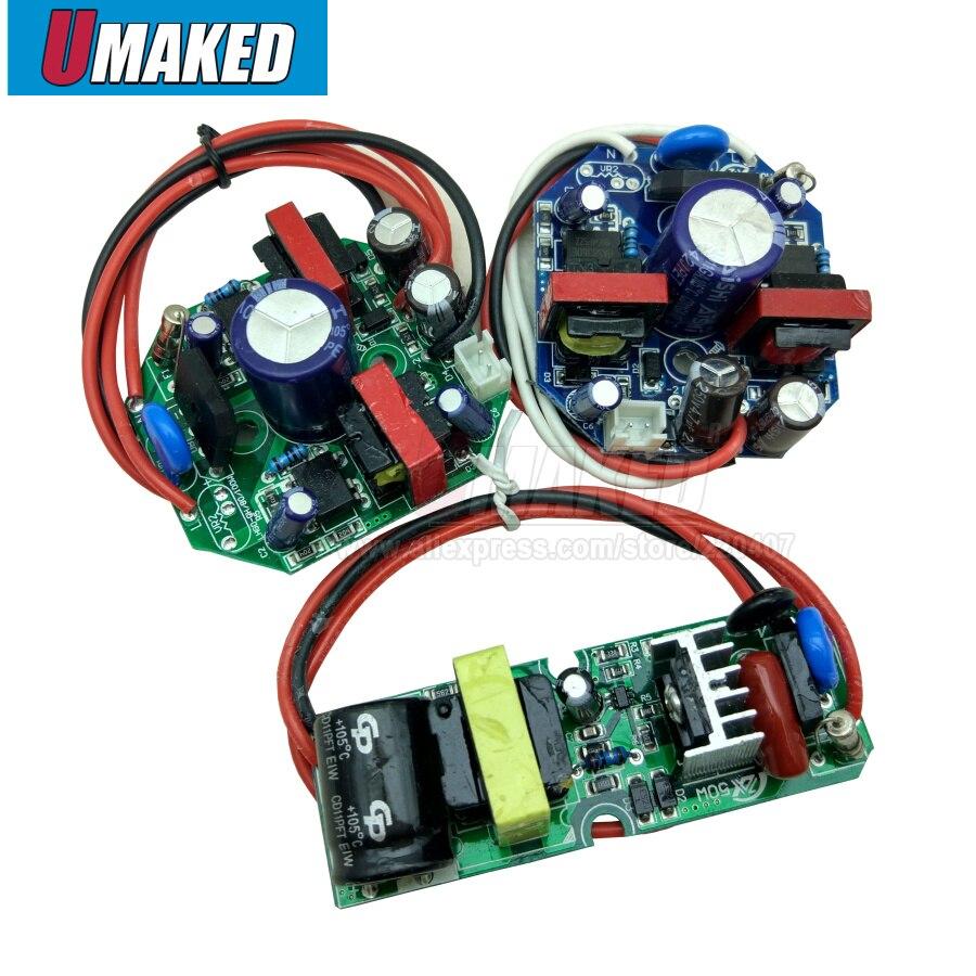 1 10 50pcs led 드라이버 정전류 램프 전원 공급 장치 280ma 1-100 w 절연 조명 변압기 전구 베이 빛 등