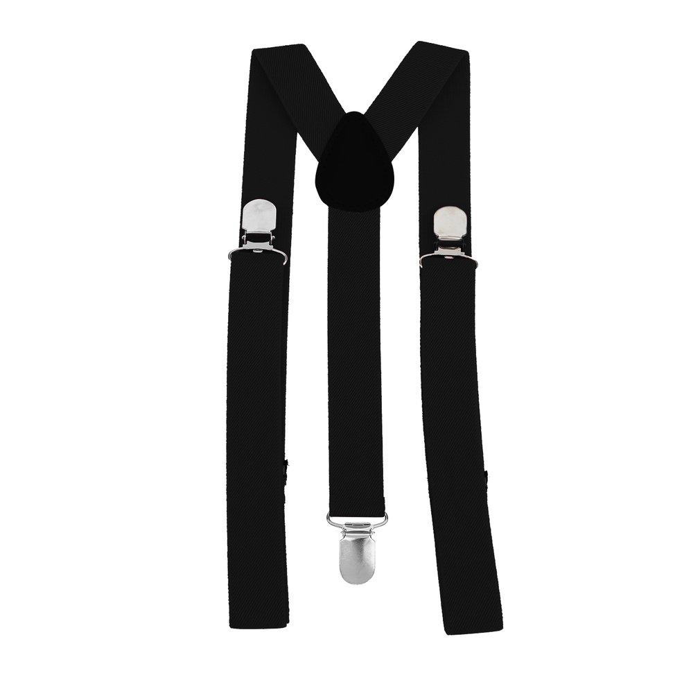 Adjustable Elasticated Adult Suspender Straps Unisex Women Men Y Shape Elastic Clip-on Suspenders 3 Clip Pants Braces