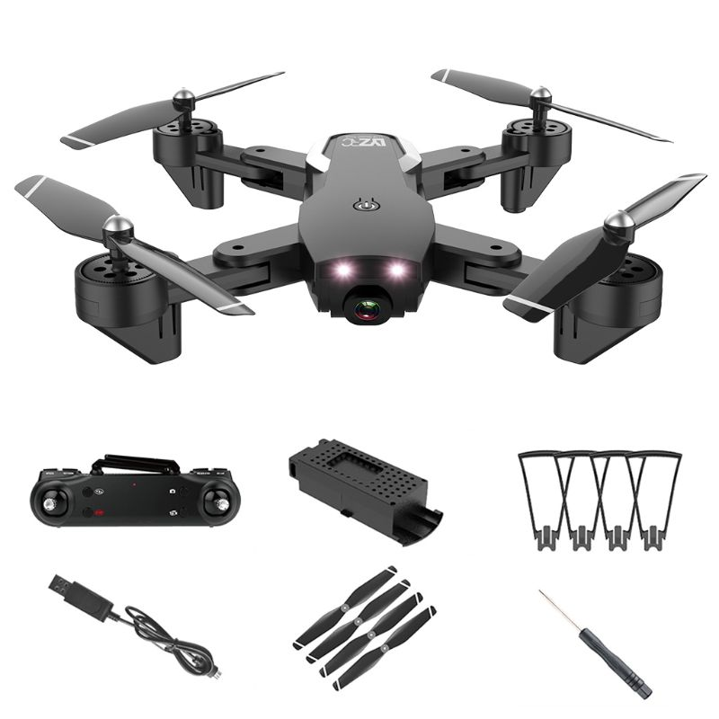 Drone with 4K Double Camera for Adults Wi-Fi Optical Flow Positioning Quadcopter 2020 Hot Sale image