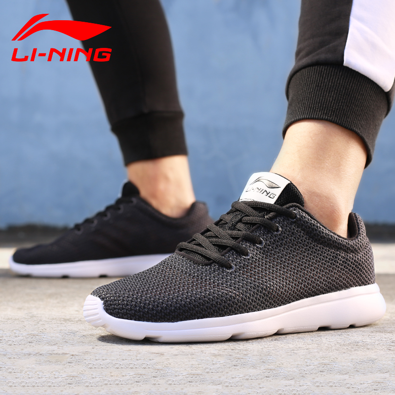 Lining Sneakers Sports-Shoes ARJL001 Breathable Men's EVA Footwear Outsole Easy-Run