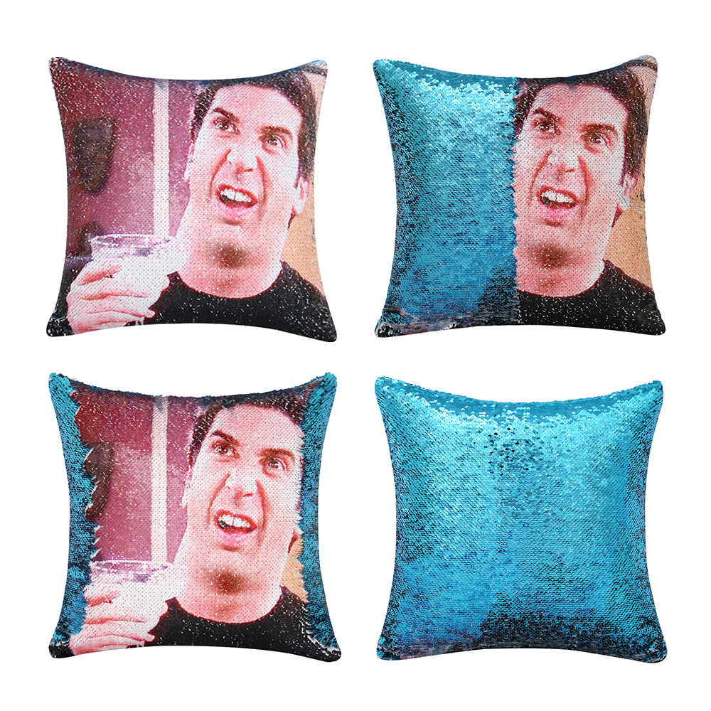 friends tv magical sequin pillow cases