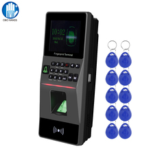 RFID Access Control Keypad TCP/IP USB Biometric Fingerprint Reader Controller System Software Support Time Attendance + 10 Keys