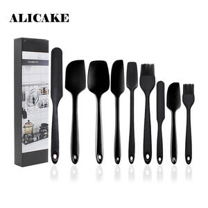 Silicone Spatula Shovel Cutters-Brush Pastry Cooking Kitchenware 9pieces-Set