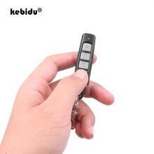 Пульт дистанционного управления kebidu с 4 кнопками, 433 МГц, беспроводной передатчик, гаражные ворота, Электрический контроллер копирования дверей, Противоугонный замок