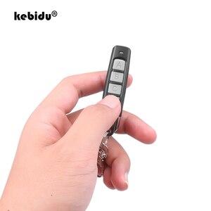 Image 1 - Пульт дистанционного управления kebidu с 4 кнопками, 433 МГц, беспроводной передатчик, гаражные ворота, Электрический контроллер копирования дверей, Противоугонный замок
