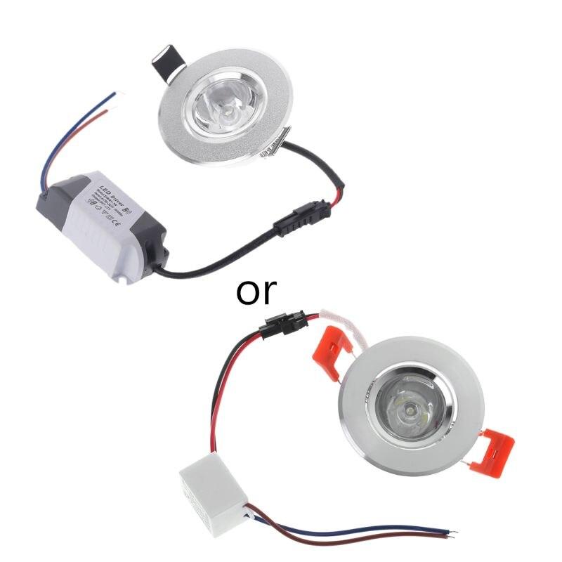 1W Mini LED lights led cabinet light mini led downlight 85-265v ceiling lamp RF