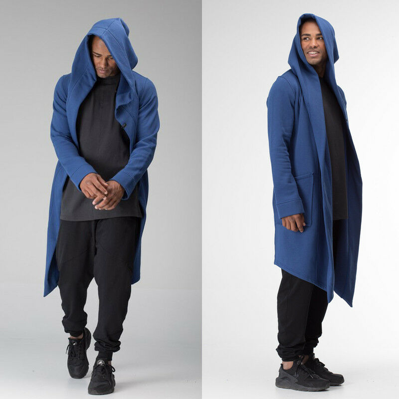 Women Men Long Coats Burning Man Warm Casual Fashion Solid Thick Cosplay Hooded Jacket Coat Outwear Women Men Long Coats Burning Man Warm Casual Fashion Solid Thick Cosplay Hooded Jacket Coat Outwear Plus Size