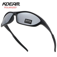 KDEAM Classic Eyewear Army Outdoor Sunglasses for men Polarized lens Design fishing Glasses Goggle Driving