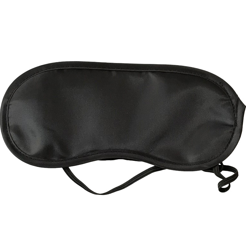 1PC Useful Pure Silk Sleep Eye Mask Padded Shade Cover Travel Relax Aid Professional Factory Price Drop Shipping