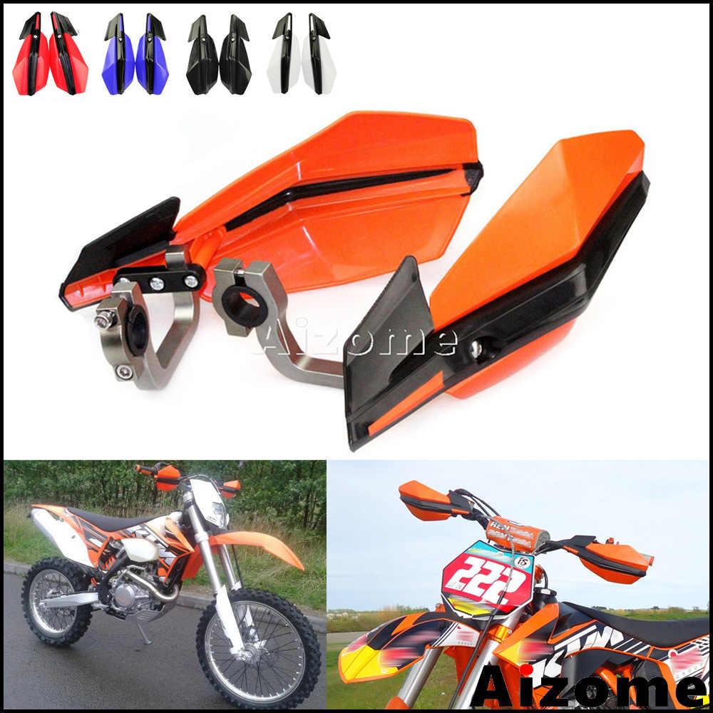 Carenatura moto Guardamanos moto de motocross 7 colores universal Protectores Handguards 7//8  Dirt Bike ATV 22mm Guardia protectora de manos Partes del cuerpo moto Color : Blue