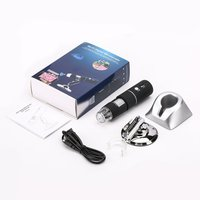 Electron Microscope with LED Lights Portable USB Digital Microscope 1000X Desk Loupe Long Distance Zoom Drop Shipping Sale
