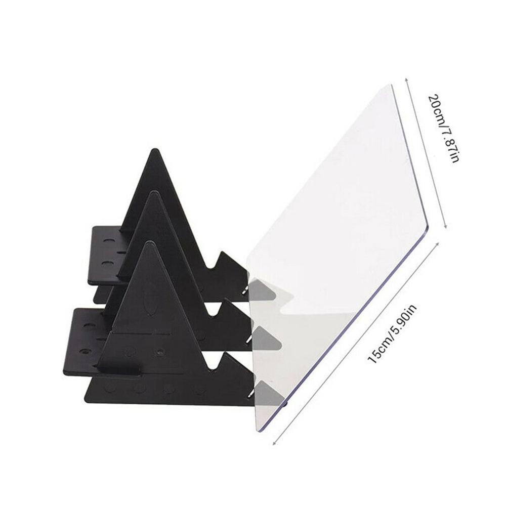 Optical Imaging Drawing Board Lens Sketch Mirror Reflection Dimming Bracket Holder Painting Mirror Plate Tracing Table Plotter.