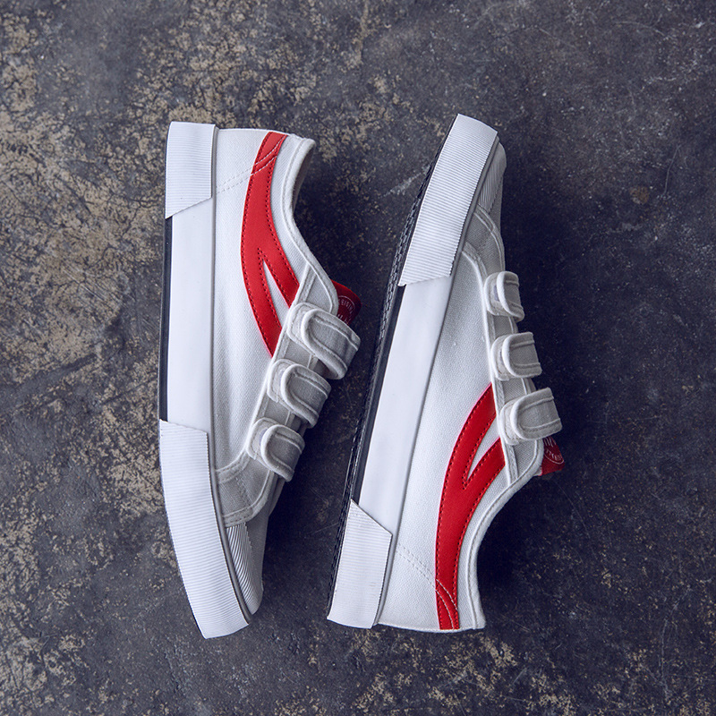 2019 Male Canvas Shoe Small White Shoes Leisure Time Sneakers Ventilation Trend All-match