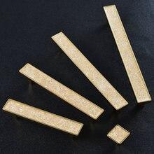 Ручки и ручки для мебели длинные золотистого цвета гостиной