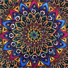 Diamond Painting DIY Round 5D Embroidery Painted Abstract Flower Pattern Kits Art Souvenir