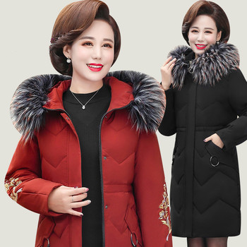 womens-winter-coat-new-product-mothers-wear-mid-length-hooded-warm-foreign-style-large-size-middle-aged-womens-cotton-coat