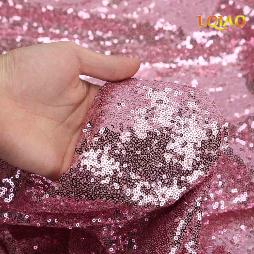 Pink Gold sequin backdrop-007