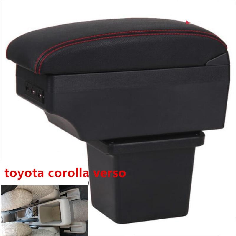 Per Toyota Corolla Verso Box Bracciolo Centrale Casella Dei Contenuti Negozio con Interfaccia Usb