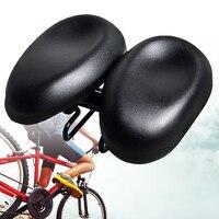 Bicicleta selas almofada fácil instalar choque absorver noseless ciclismo almofada multi função dupla acolchoado ao ar livre ajustável substituição|Selim da bicicleta|   -