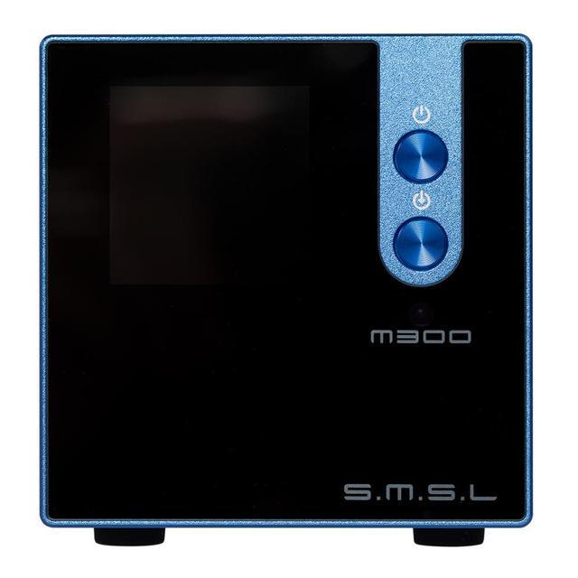 New Version SMSL M300 MKII Audio DAC AK4497 Native DSD512 PCM768kHz USB Optical Coaxial Bluetooth 5.0 Input Balanced Line Output 5