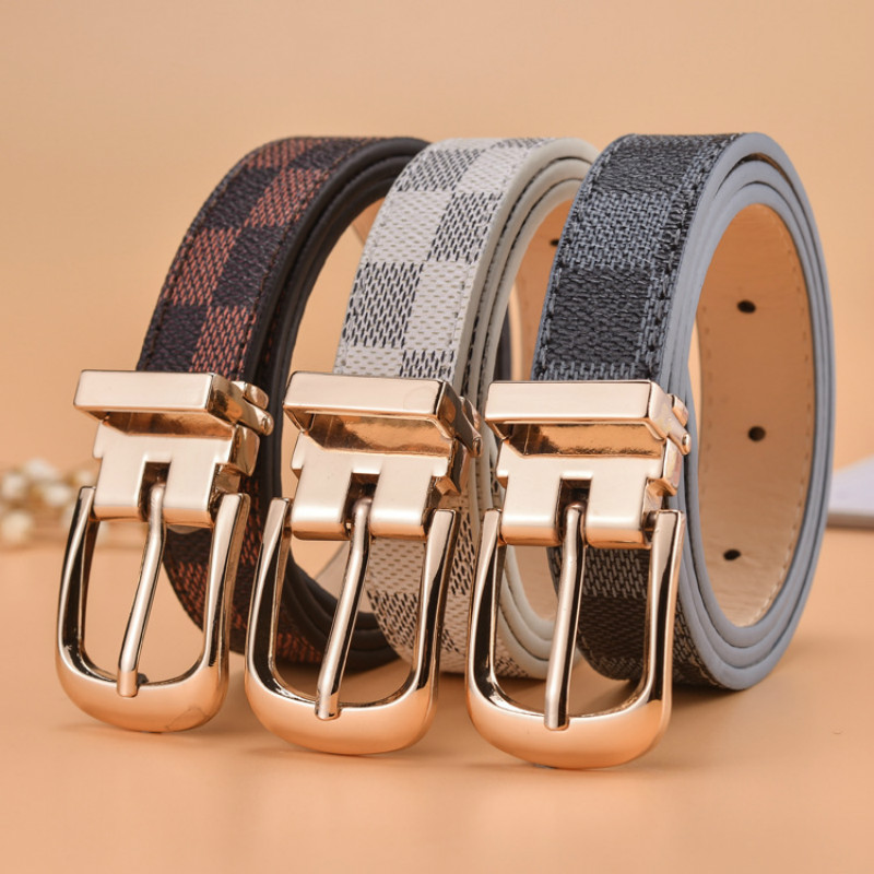 Hot Sale Luxury Fashion Children's Belt Boys Girls And Middle School Students Belts Pin Buckle  MilitaryTraining Belts Waistband