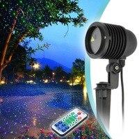 Проекционная лампа Gypsophila лазерный свет водонепроницаемый пульт дистанционного управления красочные романтические праздничные украшения ...