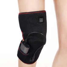 Temperature Adjustable Heated Warm Knee Pad Brace Wrap USB Rechargeable Pain Relief Electric Heating Support Massager