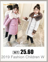 Hffc649ccbad84031a67dff1c5dc53eb8E 2019 New Russia Baby costume rompers Clothes cold Winter Boy Girl Garment Thicken Warm Comfortable Pure Cotton coat jacket kids