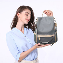 Backpack Womens  Oxford Cloth Waterproof Travel Multi-functional Casual