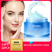 EFERO Hyaluronic Acid Face Serum Essence Care Shrink Pore Remove Fine Lines Acne Treament Anti-Aging Moisturizing Cream