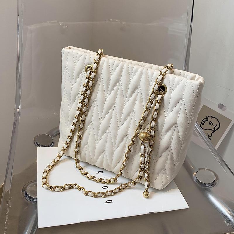 с доставкой Small Chain Designer Women's Winter PU Leather Crossbody Bag Women 2020 Trend Shoulder Handbags Trending Hand Bag