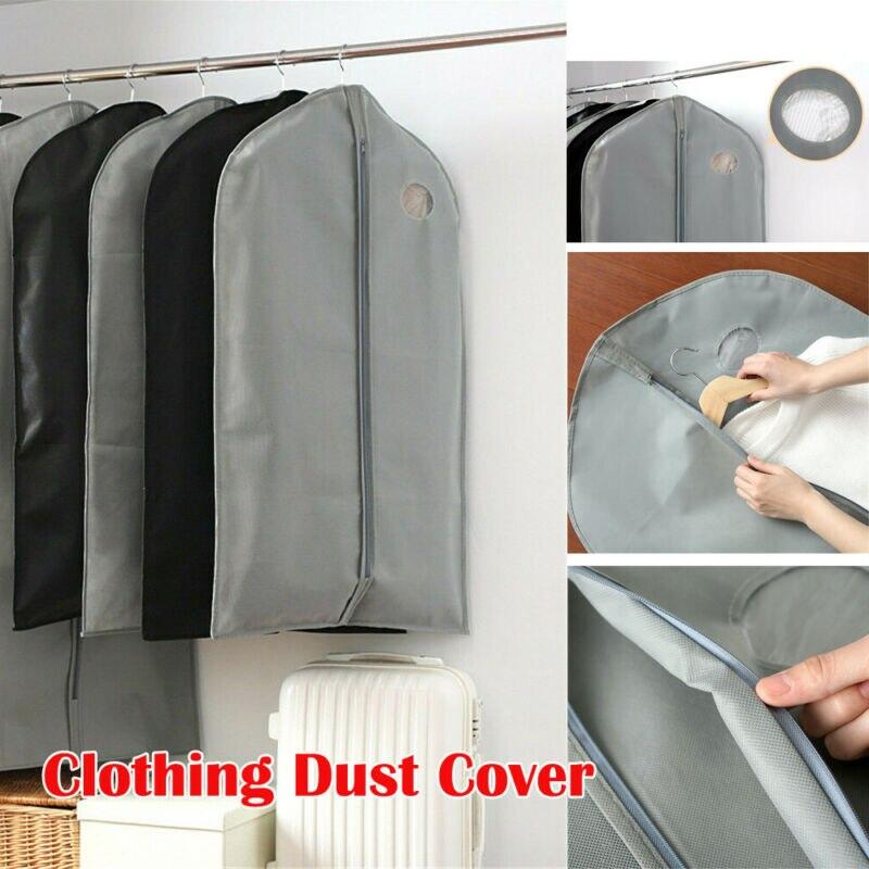 US GARMENT DRESS SUIT CLOTHES COAT COVER PROTECTOR CARRIER TRAVEL Dust-proof BAG