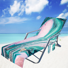Multifunctional Beach Chair Towel with Side Pockets Lounger for Holiday Sunbathing Can Folded into Crossbag Beach Chairs Cover cheap DOORSACCERY CN(Origin) Other Polar Outdoor Furniture 73x210cm for Holiday Sunbathing Beach microfiber pool chair patio Anti-slip Design - Stays