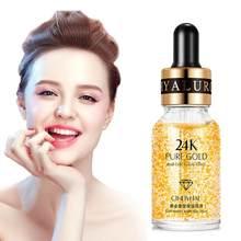 24k ouro facial cuidados com a pele clareamento hidratante & anti rugas rosto anti-envelhecimento essência soro creme