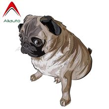 Aliauto Funny Car Sticker A Lovely Pet Dog Accessories PVC Originality Decal for W211 Mercedes Benz Accessories Pajero,13cm*11cm(China)