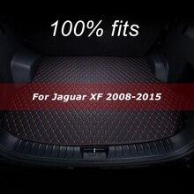 Mata bagażnika samochodowego dla Jaguar XF 2008 2009 2010 2011 2012 2013 2014 2015 mata do wyłożenia podłogi bagażnika dywan wnętrze osłona akcesoriów