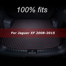 Tappetino bagagliaio per Jaguar XF 2008 2009 2010 2011 2012 2013 2014 2015 cargo liner carpet accessori interni cover