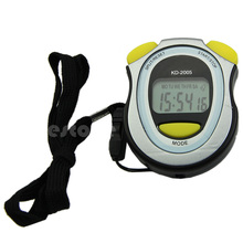New Handheld Digital LCD Sports Stopwatch Counter Timer Chronograph