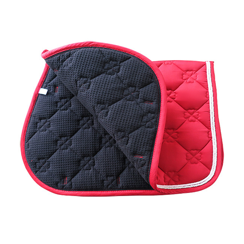 Saddle Cover Protective Equestrian Bareback Riding Pad Horse Riding Pad For Horse Riding Show Jumping Performance Saddle Cushion