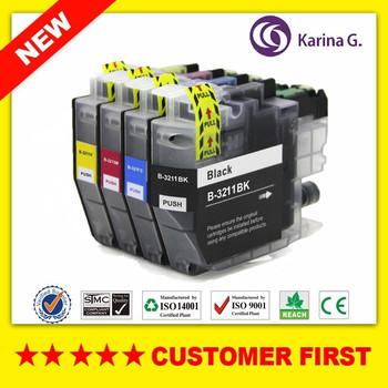 Kompatybilny wkład z atramentem do Brother LC3211 LC3213 garnitur do Brother DCP-J772DW DCP-J774DW MFC-J890DW MFC-J895DW itp tanie i dobre opinie Karina G Pełna compatible For LC3211 LC3213 compatible ink cartridge Guangdong China(mainland) ISO9001 ISO14001 SGS STMC CE