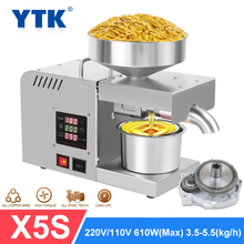 Oil-Extractor Cold-Press Flaxseed YTK Automatic Peanut X5S 1500W Household MAX
