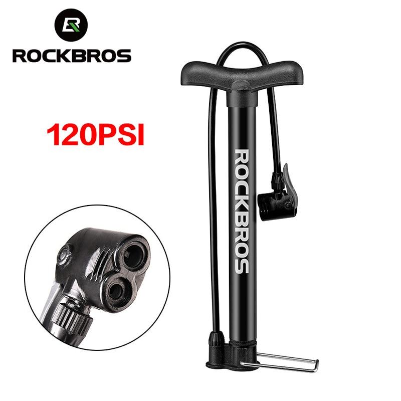 Mini MTB Bike Pumper Inflator Cycling Pump For Presta/&Schrader 120PSI Press Pump