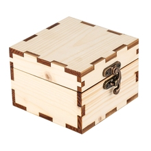 Case Watch-Box-Holder Box-Storage Bamboo-Organizer Display Square Table-Box Lock All-Wood