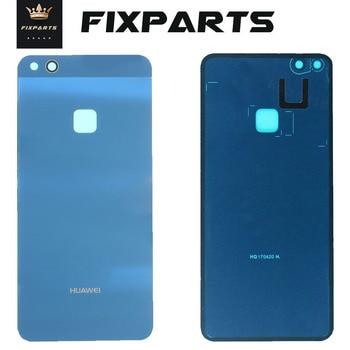 Original Huawei P10 Lite Back Glass Battery Cover Rear Door Nova Lite Housing Huawei P10 Lite Batter
