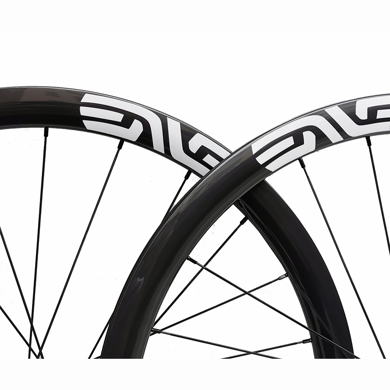 width 25mm carbon road bike disc <font><b>wheel</b></font> 38mm 50mm clincher customized decal DT 350s center lock or <font><b>6</b></font> bolt wheelset 700c image
