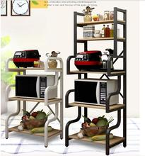 The kitchen sets content rack to be born multilayer domestic use microwave oven rack muti_function store content seasoning shelf