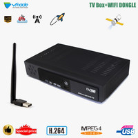 Vmade DVB T2 H.264 MPEG4 HD Digital Terrestrial TV Receiver Support Youtube 3D Interface TV Set Top Box Free Send Mini USB WIFI
