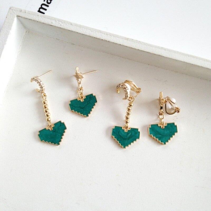 Show Temperament Retro Chinese Knot Tassel Long Earrings for Women