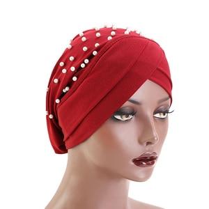 Image 3 - Pearl Abaya India Hijab Scarf Muslim Arabic Hat Women Jewish Islam Prayer Caps Islamic Saudi Arabia Cappelli Donna Hots